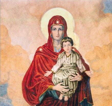 Arsenie-Boca-Iisus-in-Zeghe-Sf-Fecioara-Maria-cu-Pruncul