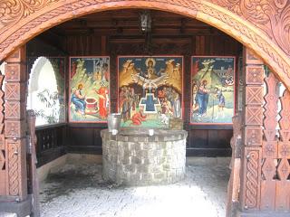 Izvorul Parintelui Arsenie - Manastirea Brancoveanu