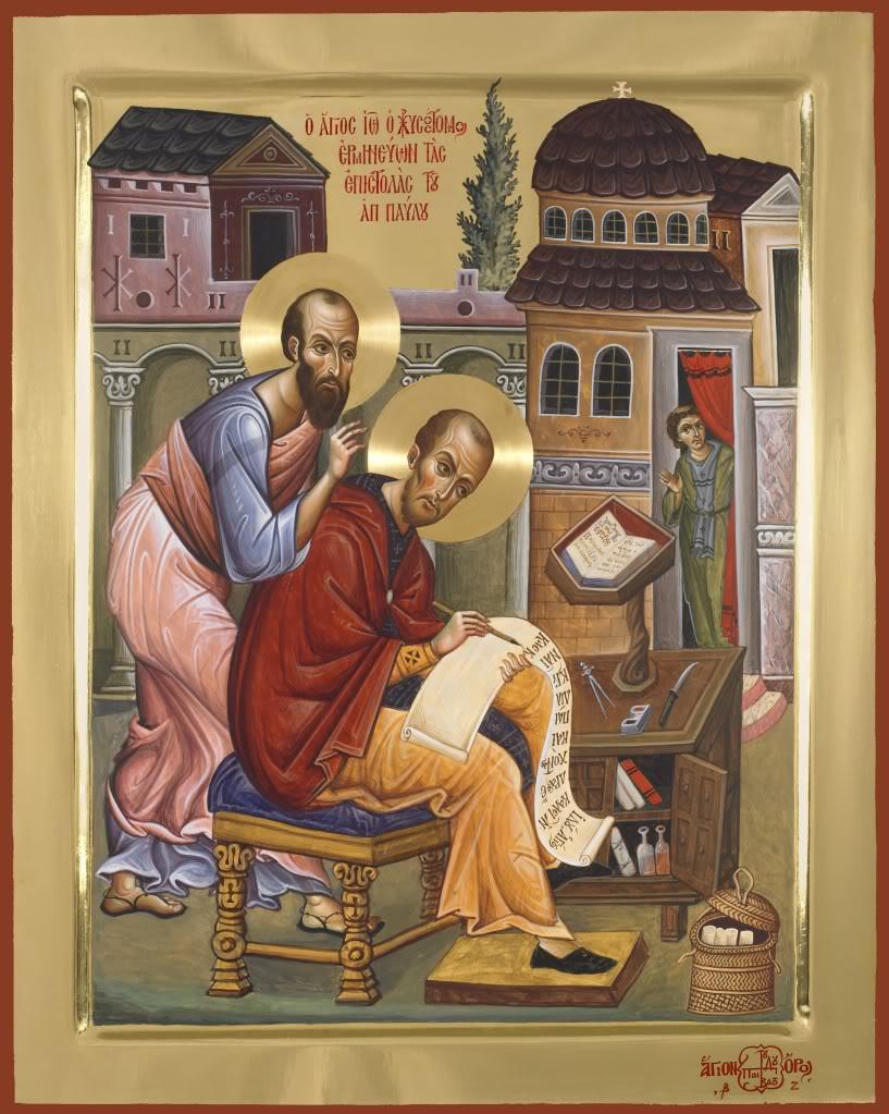 Αποτέλεσμα εικόνας για sf ioan gura de aur si sfanta scriptura