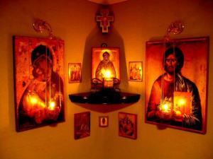 altarul casei