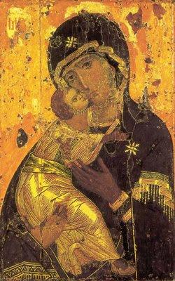 theotokos of vladimir vladimirskaia