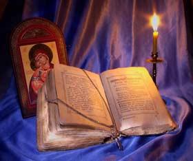 rugaciune-biblia-icoana-lumanare